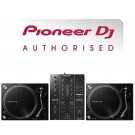 Pioneer PLX-500 Turntable and DJM-350 Mixer Package