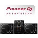 Pioneer PLX-500 Turntable and DJM-250Mk2 DJ Equipment Package