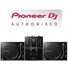 Pioneer PLX-1000 Turntable and DJM-250Mk2 DJ Equipment Package