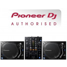 Pioneer PLX-1000 Turntable and DJM-450 Mixer Package
