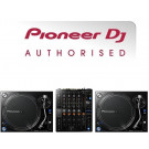 Pioneer PLX-1000 Turntable and DJM-750mk2 Mixer Packag