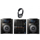 Pioneer CDJ-900NXS and DJM-750mk2 Package