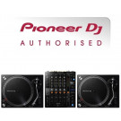 Pioneer PLX-500 Turntable and DJM-750 DJ Equipment Package