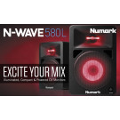 Numark N-Wave 580L self-powered 2-way monitor speaker system main