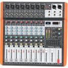 Ibiza Sound MX802 8-Channel Mixer