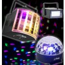 Party Light and Sound Set of 3 Lights