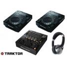 Pioneer CDJ-350 & DJM-850k DJ Package
