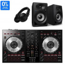 Pioneer DDJ-SB3, DM-40BT, and HDJ-X5 DJ Equipment Package