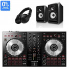 Pioneer DDJ-SB3, S-DJ50X, and HDJ-X5 DJ Equipment Package