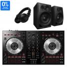 Pioneer DDJ-SB3, DM-40, and HDJ-X5 DJ Equipment Package