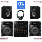 Pioneer CDJ-850K, DJM-750mk2 and S-DJ50X Pro DJ Package (PLEASE NOTE THIS IS A PRE ORDER)