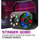 ADJ Stinger Gobo 3-FX-IN-1 Lighting Effect