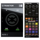 Native Instruments Traktor Audio 2 MK2 + Traktor Kontrol F1 Bundle