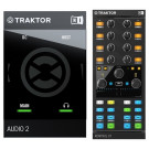 Native Instruments Traktor Audio 2 MK2 + Traktor Kontrol X1 Mk2 Bundle