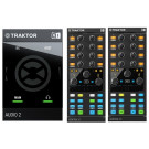Native Instruments Traktor Audio 2 MK2 + 2 x Traktor Kontrol X1 Mk2 Bundle