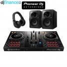 Pioneer DDJ-400, HDJ-X5 Headphones, and VM-80 Speakers Complete DJ Equipment Package