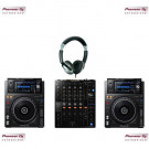 Pioneer XDJ-1000MK2 and DJM-750mk2 DJ Equipment Package