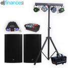 Mobile DJ Starter Lighting and Speaker Package