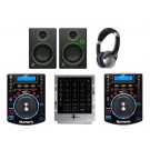 Numark NDX500, M4 and Mackie CR4 Pro DJ Package