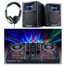 Numark Party Mix and N-Wave 360 DJ Equipment Package