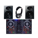 Numark Party Mix and Alesis Elevate 4 Speaker DJ Package