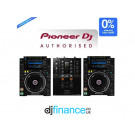 Pioneer CDJ-2000NXS2 and DJM-250MK2 DJ Package