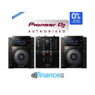 Pioneer CDJ-900NXS and DJM-250MK2 DJ Package