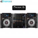 Pioneer CDJ-900NXS and DJM-900NXS2 DJ Equipment Package