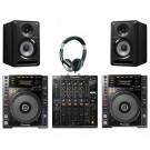 Pioneer CDJ850k, DJM900NXS2 and S-DJ50x DJ Package