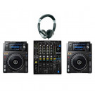 Pioneer XDJ-1000MK2 and DJM-900NXS2 DJ Equipment Package