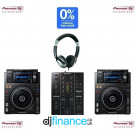 Pioneer XDJ-1000MK2 and DJM-350 DJ Equipment Package
