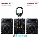Pioneer XDJ-1000MK2 and DJM-450 DJ Equipment Package