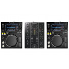 Pioneer XDJ-700 and DJM-350 Mixer Package