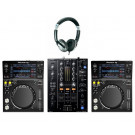 Pioneer XDJ-700 and DJM-450 DJ Equipment Package