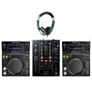 Pioneer XDJ-700 and DJM-450 DJ Equipment Package
