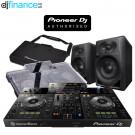 Pioneer XDJ-RR, DM-40 Speakers, Decksaver Cover and Carry Bag and Cables Package Deal