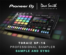 Pioneer TORAIZ SP-16 Sampler and Step Sequencer