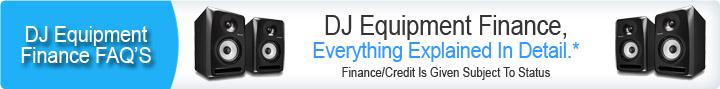 DJ Equipment Finance